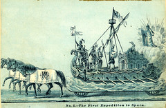 No. 5  The First Expedition to Spain (Edge and corner wear) Tags: new carnival classic la newspaper orleans louisiana historic parade historical classical gras allegory mythology mardi myth floats tearsheet allegorical 1880s