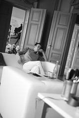 Steven (carnarius) Tags: selfportrait indoor portrait male mann boy guy fashion architecture architektur bamberg bavaria franconia franken oberfranken palais stevencarnarius designer designstudio studio agentur agency rume location nikon d700 model face muscle selbstportrt portrt