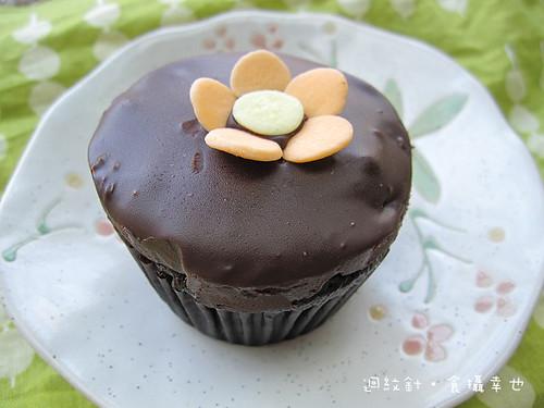 Ginjer巧克力杯子蛋糕