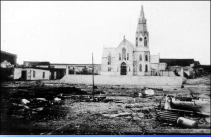 Iglesia San Marcos Arica - Efectos Tsunami 1877