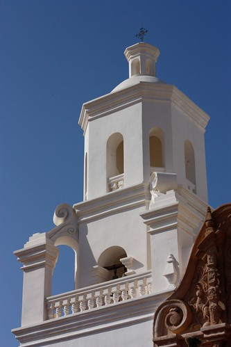 Tower of San Xavier Mission