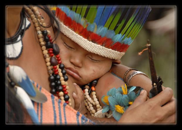 Amazonie - enfant Bororo