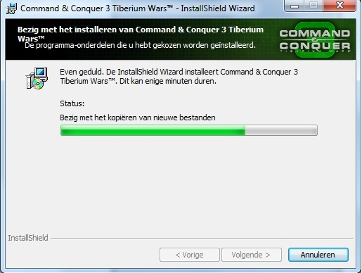 C&C3 Install Fail