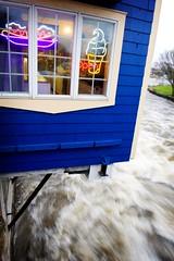 local flood (Heidi Hope) Tags: ri storm news rain weather river flooding flood newengland rhodeisland northeast warwick pawtuxet warwickri heidihopephotography heidihope httpwwwheidihopecom httpwwwheidihopeblogspotcom