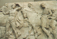 The Parthenon Marbles (Emily Whale) Tags: theparthenonmarbles thepiecesfromtheparthenon traveltoseearts