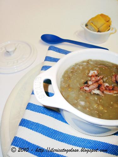 Zuppa di Lenticchie alla pancetta (1)
