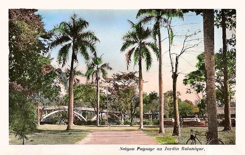 Saïgon - paysage au jardin botanique
