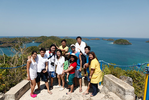 Hundred Islands: Look from the top