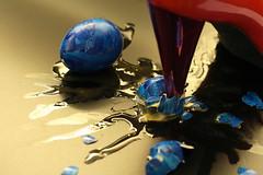 Fragile steps (wout.) Tags: blue canon easter shoe pumps eggs fragile soe efs60mm eos400d
