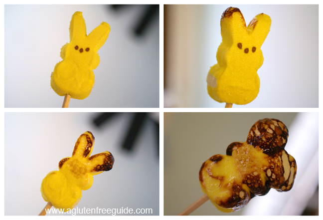 Making Toasted Marshmallow Peeps