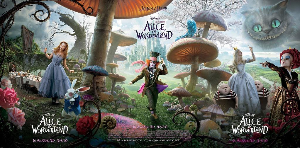 alice-in-wonderland-triptych-poster