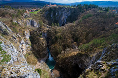 What a wonderful view (Karmen Smolnikar) Tags: water river waterfall rocks hills slovenia slovenija karst abyss reka kras sigma1020 škocjan yourwonderland škocjancavespark