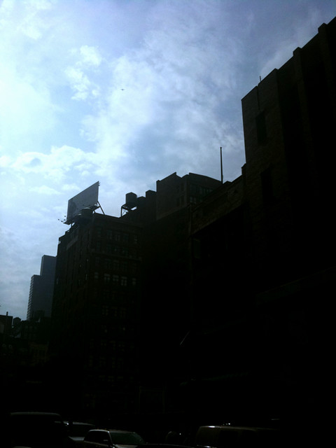 looking up on 31st #walkingtoworktoday