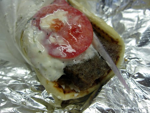 the greek - looks like a gyro wrap to me by foodiebuddha.