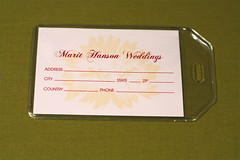 Luggage Tag Place Cards