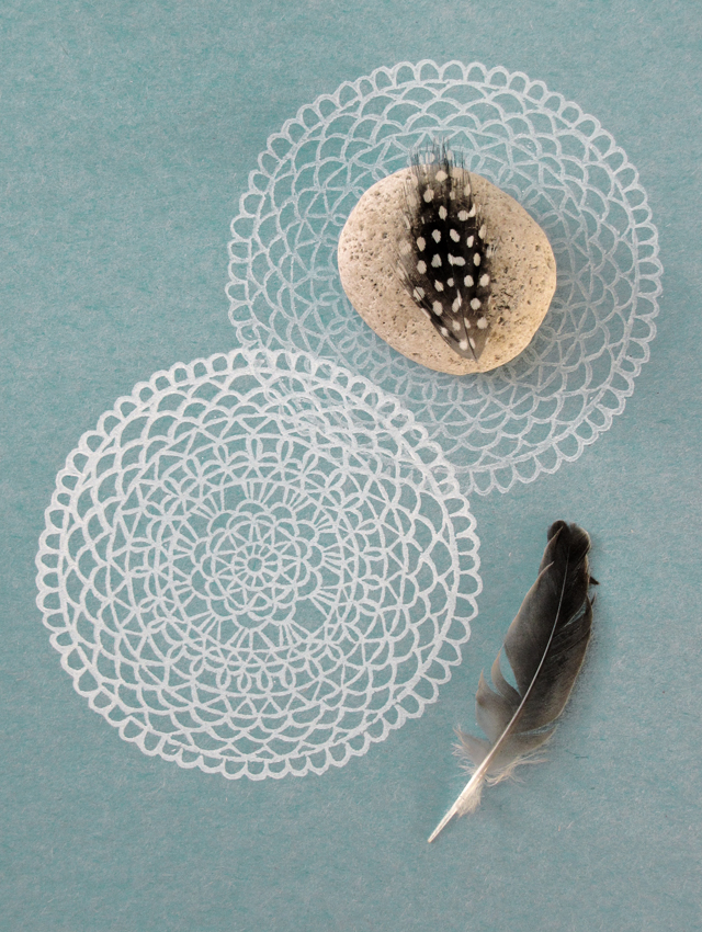 Stamped Doily