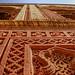 Intricate façade patterns - Qutb complex