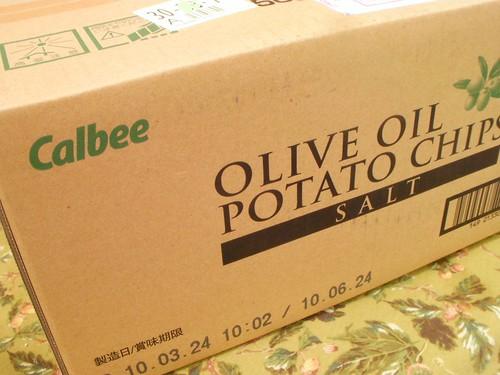 カルビー オリーブオイルポテトチップス