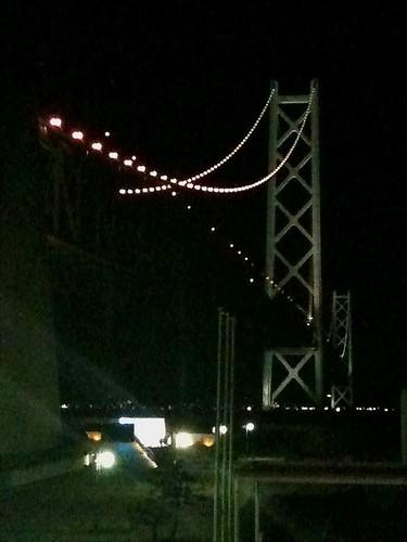 【サイコロ旅】夜の明石大橋