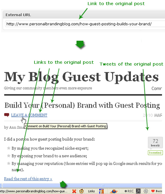 Share your guest post