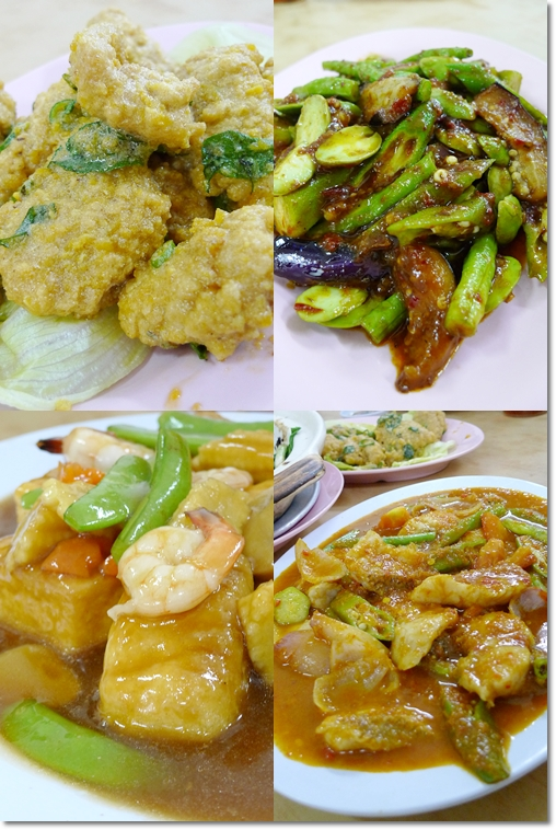 Various Dishes @ Sun and Sun