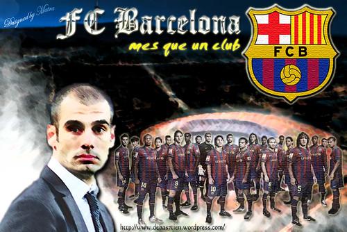 Wallpaper FC Barcelona by