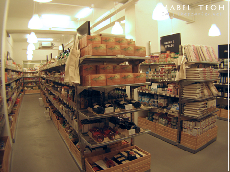 Supernature: The pantry and liquid item section