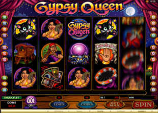 Gypsy Queen slot game online review