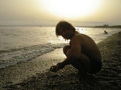 Playa 1 (melibeo) Tags: portrait atardecer mar andaluca retrato playa arena puestadesol ocaso almera mediterrneo jnj