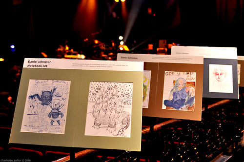 daniel johnston art. Daniel Johnston#39;s Art. Daniel Johnston and the Beam Orchestra - April 15, 2010 - Le Bataclan - Paris, France. Read our review of the show on This Kind of