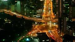 view from tokyo tower (wongyokeseong) Tags: japan tokyo flickr sony  tokyotower  shiba minatoku  minato   t200 shibapark ken   tkytaw shibaken sonydsct200 sonyt200