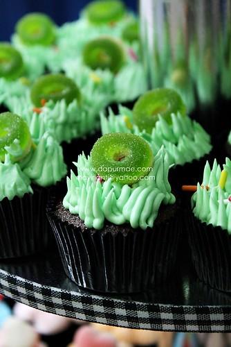 Birthday Cupcake Tiers