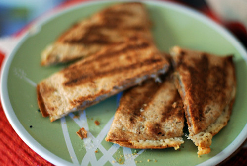 breakfast quesadilla!