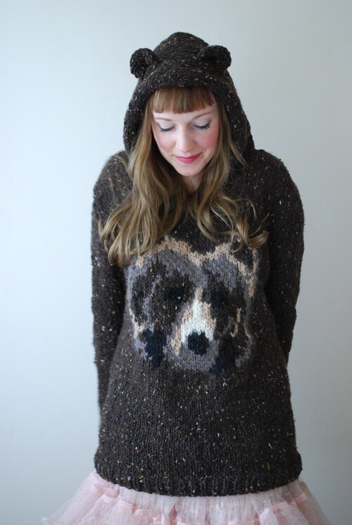Knitting Pattern Bear Jumper : Novelty jumpers   a knit too far? Yes I Like That