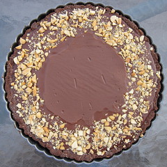 Chocolate Peanut Tart