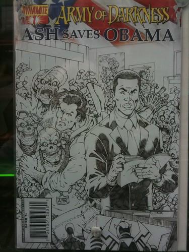 Barrack Obama vs Zombies
