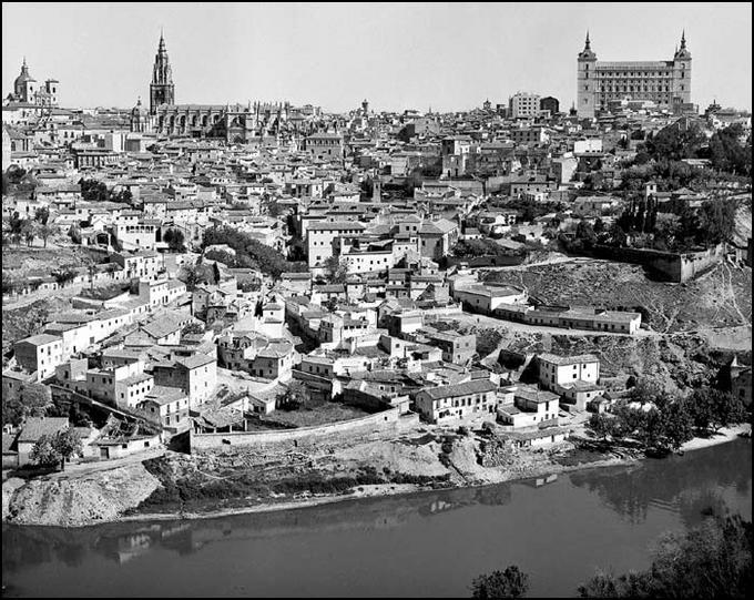 Toledo en 1967. Fotografía de John Fyfe