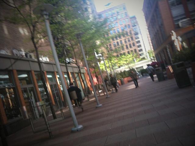 parkway near Behavior #walkingtoworktoday