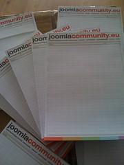 JoomlaCommunity.eu notitieblokken