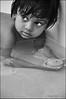 Piu (Sukanto Debnath) Tags: bw india white black water pool girl beautiful swimming eyes little ripple hyderabad piu debnath sukanto sukantodebnath