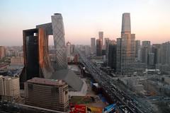 金台夕照 北京中央商务区 CCTV/TVCC/Word Trade CentreIII CBD Beijing