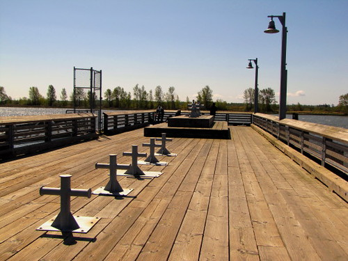 Boardwalk piers can be found in many places in Steveston, BC