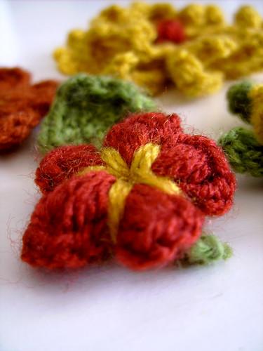Lovely flowers crochet pattern