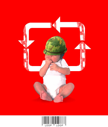 Loop The Loop - Anti War Poster