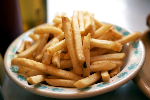 french fries @ pies-n-thighs