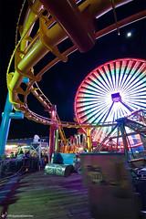 good times (digitizedchaos) Tags: california pier losangeles santamonica ferriswheel rollercoaster tokina1116