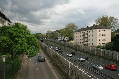 A40 am Steeler Berg
