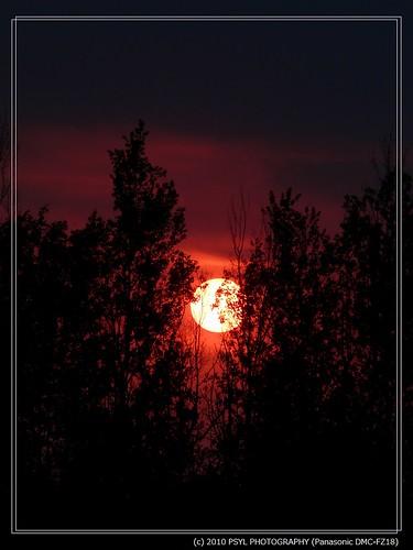Sunset on 2010-04-30