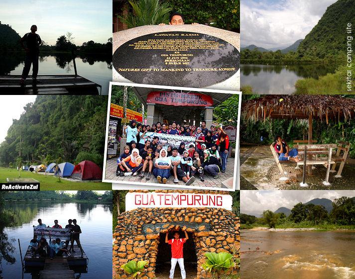 Sekitar camping site Gua Tempurung