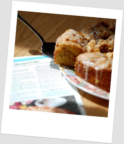 Almond Streusel Cake II